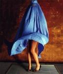 burka i blåsväder